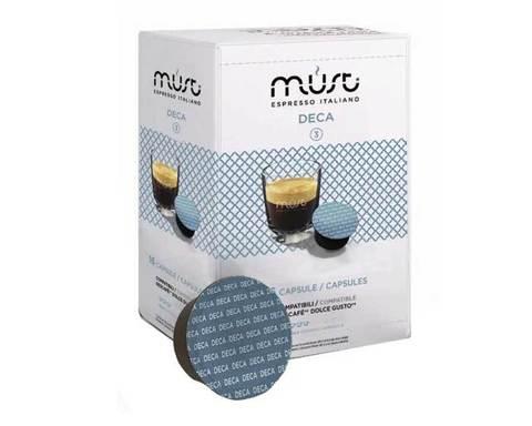 Кофе в капсулах Must Deca, 16 капсул для кофемашин Dolce Gusto