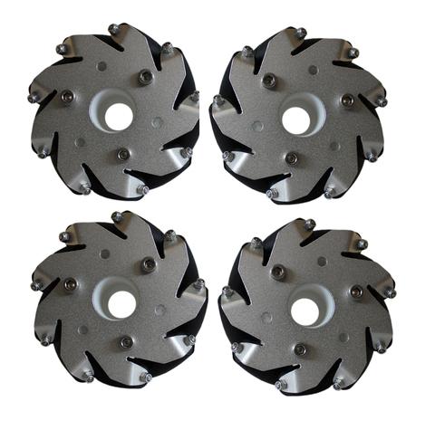 Набор из 4х колес Mecanum, 100 мм