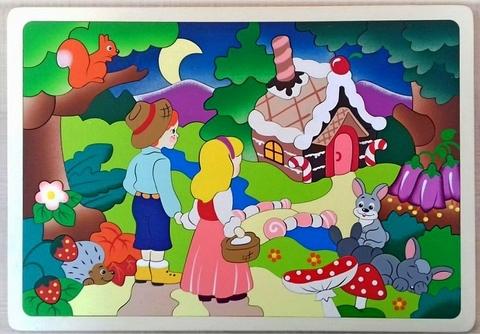 Деревянная мозаика Сказочный лес, Крона, арт. 143-077