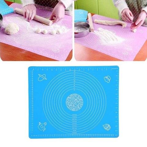 Коврик силиконовый для раскатки теста 45x65 см