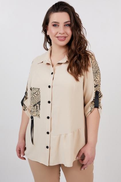 Рубашка Кьяра (бежевый)
