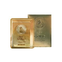 Маска Elizavecca 24k gold water dew snail mask pack (25ml x 10ea) 10 шт.