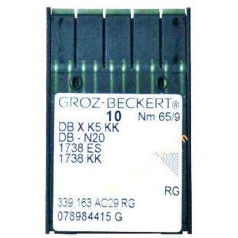 Groz Beckert DB*К5 KK универсальные иглы для промышленных вышивальных машин №65   Soliy.com.ua