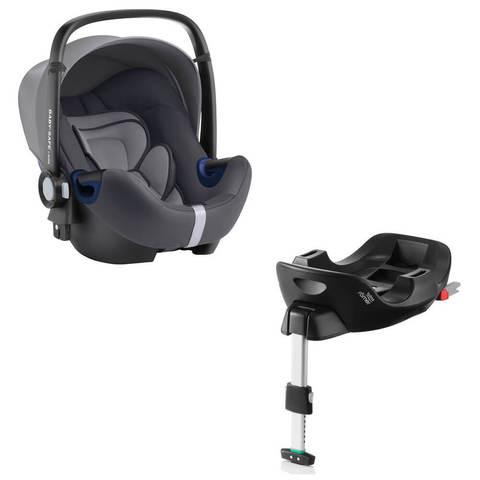 Автокресло Britax Roemer Baby-Safe2 i-Size Storm Grey + Base Flex Isofix