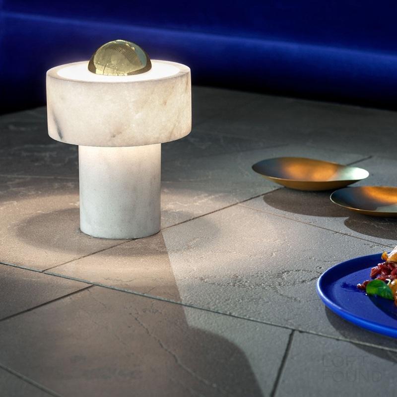 Настольная лампа Rock Tom Dixon style