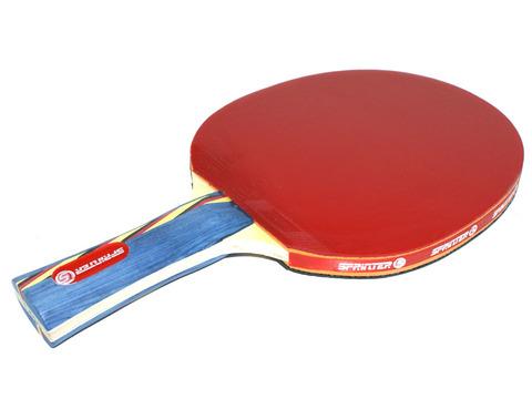 Ракетка для игры в настольный тенис Sprinter 5*****, для опытных игроков. Скорость: 7 Вращение: 7 Контроль: 8 :(S-503):