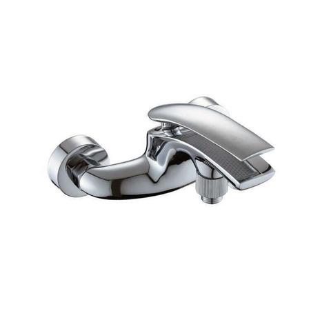 Смеситель для ванны однорычажный Globus Lux GALAX GLG-102 с литым изливом