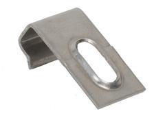 Кляймер стартовый/финишный для террасной доски Savewood нержавеющая сталь.