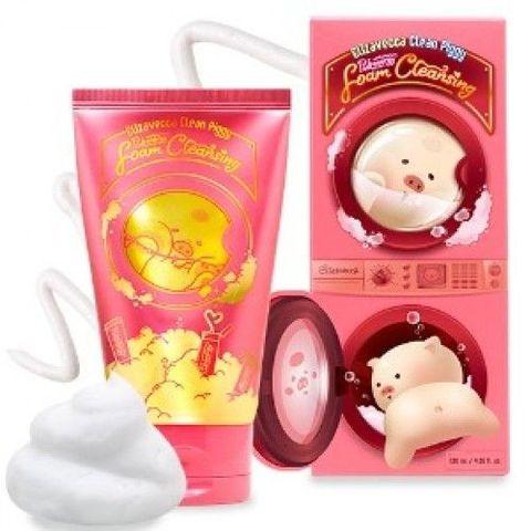 Elizavecca Clean Piggy Pinkenergy Foam Cleansing пенка для умывания с экстрактами ягод