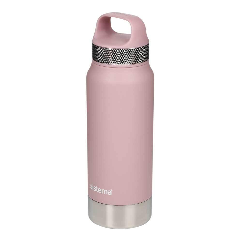 """Термобутылка Sistema """"Hydrate"""" 650 мл, цвет Розовый"""