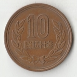 K13102 1982 Япония 10 йен