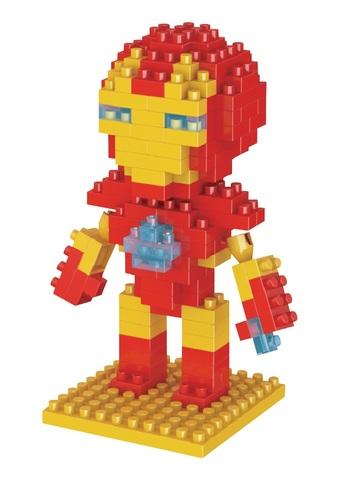 Конструктор Wisehawk & LNO Железный человек 140 деталей NO. 016 Iron Man Gift Series