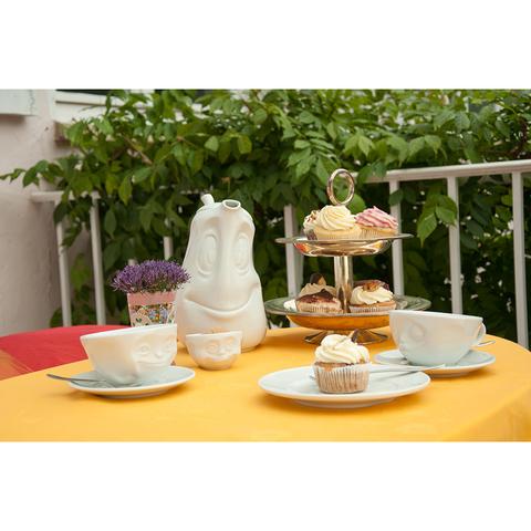 Чайная пара Tassen Happy 200 мл белая