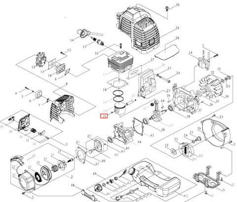 Кольцо стопорное  для лодочного мотора T3,5 Sea-PRO