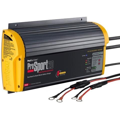 Зарядное устройство ProMariner ProSport 20PFC, 12/24 В, 20 А