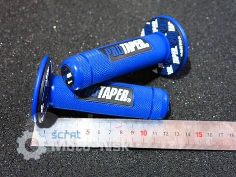 Грипсы Protaper Honda Yamaha Kawasaki Suzuki синие