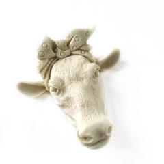 Д0001 Отливка из пластика Голова коровы