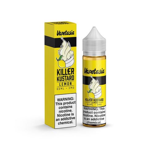 Жидкость Vapetasia 60 мл Killer Kustard Lemon