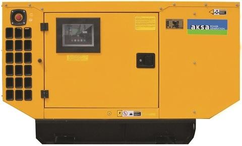Дизельный генератор Aksa AP 22 в кожухе