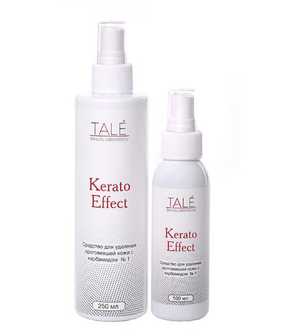 Tale Kerato Effect Средство для удаления ороговевшей кожи с карбамидом №1 (100 мл) купить за 620руб