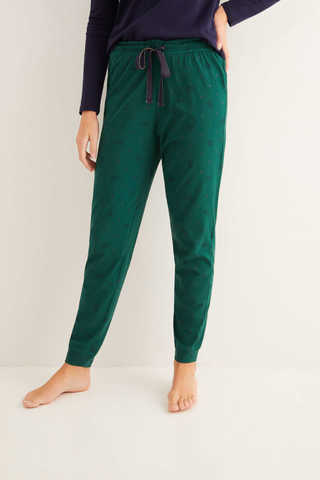 Довгі піжамні штани з принтом