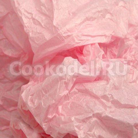 Бумага тишью Розовый 10 листов