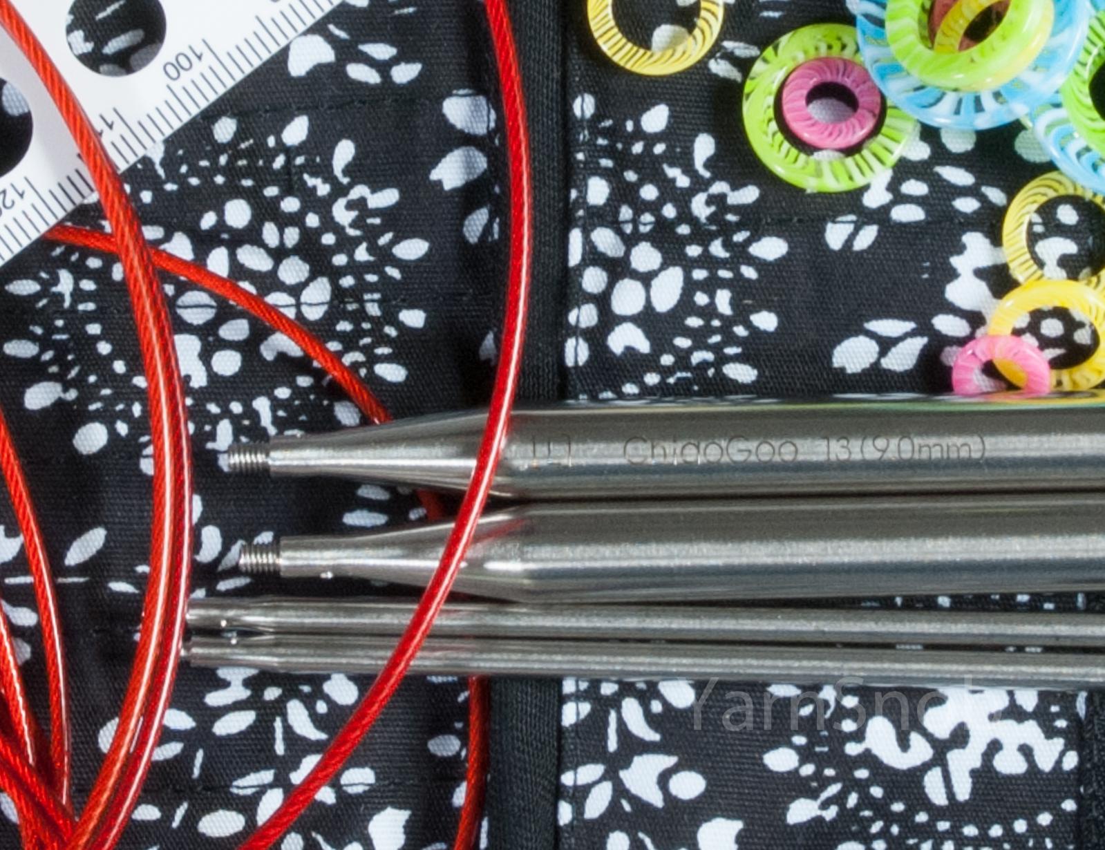 Набор металлических спиц Chiao Goo, 13 см, Complete