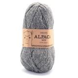 Пряжа Drops Alpaca 0517 серый меланж