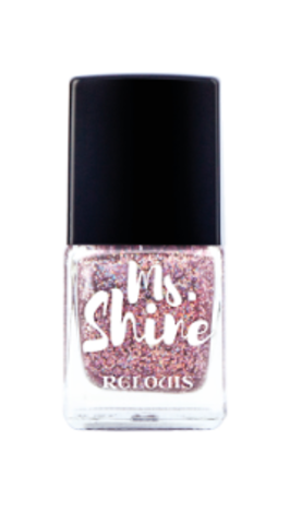 RELOUIS Лак для ногтей  Ms.Shine тон 07 HOLO LILAK