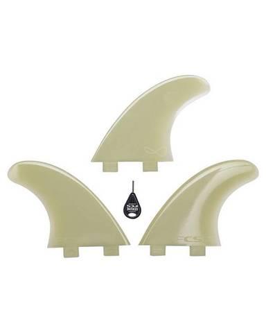 FCS M-5 Natural Glass Flex Thruster, компл. из трех, M