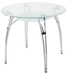 Столик стеклянный круглый А7К