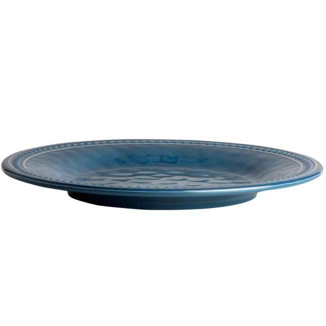 MELAMINE DINNER PLATE, HARMONY LAGOON 6 UN