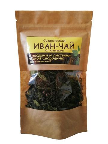 Иван-чай «с плодами и листьями черной смородины»