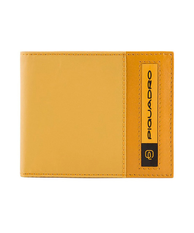 Кошелек Piquadro Bios, желтый, 11x9x1,5 см