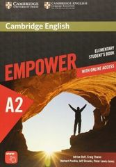 Cambridge English Empower Elementary Student's Book with Online Assessment and Practice, and Onli...