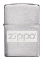 Подарочный набор: фляжка 89 мл и зажигалка в коробке с подвесом ZIPPO, фото 2