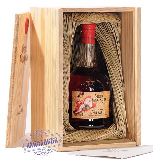 Коньяк Леро Вье Миллинер (Cognac Lheraud Vieux Millenaire) 0,7 л 43%