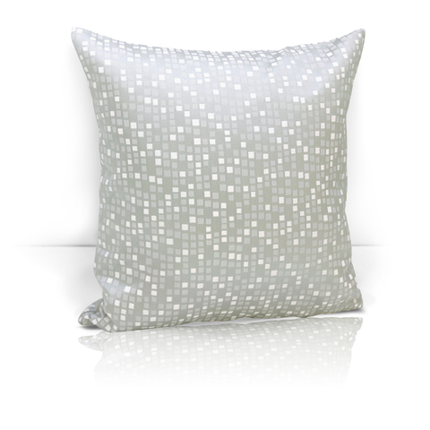 Подушка декоративная Домино серый
