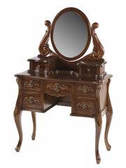 Туалетный столик с зеркалом WA 016 (MK-2462-NM) Итальянский орех
