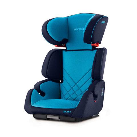 Автокресло группа 2/3 (15-36 кг) Recaro Milano Seatfix напрокат