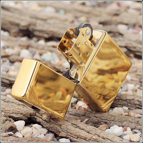Зажигалка ZIPPO 270 Vintage Series 1937 Золотая