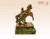 фигурка Аничков мост на змеевике, кони Клодта, Укротитель коней стоит