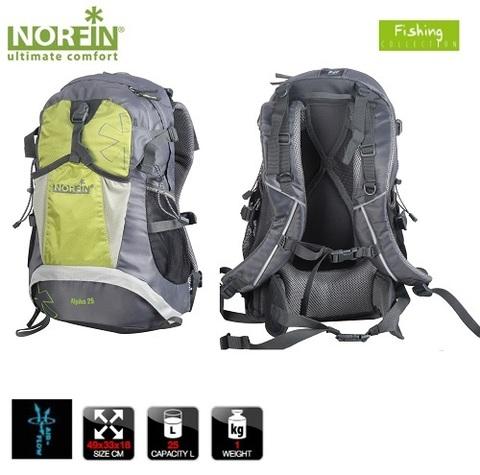 Рюкзак NORFIN Alpika 25
