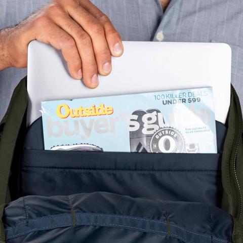 Картинка рюкзак городской Osprey Apogee Sentinel Grey - 7