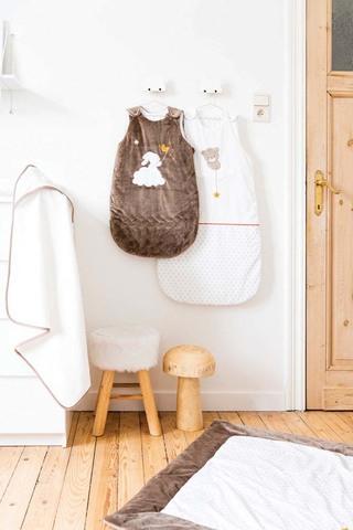 Спальный мешок Nattou Mia & Basile Brown 70см B