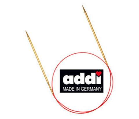 Спицы круговые с удлиненным кончиком, №4 ,80 см ADDI Германия арт.755-7/4-80