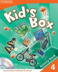 Kid's Box 1Ed 4 Activity Book with CD-ROM