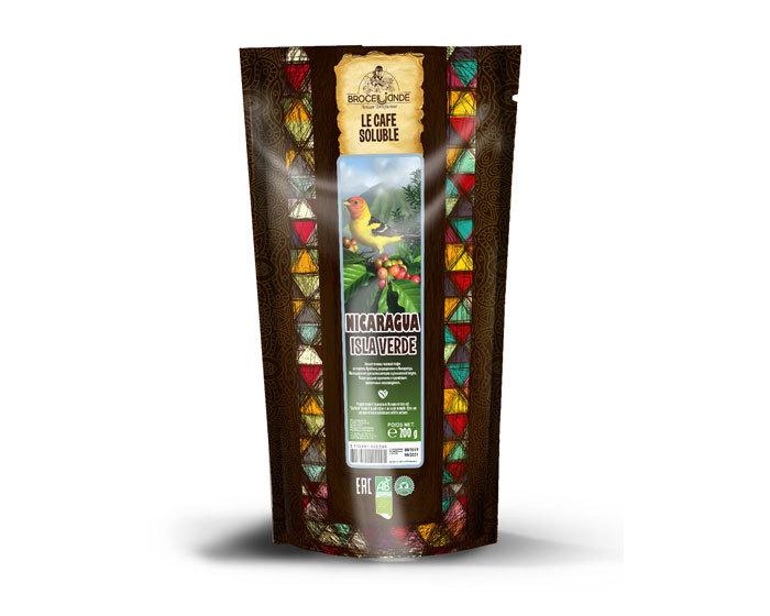 цена Кофе растворимый Broceliande Nicaragua, 200 г