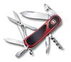 Нож Victorinox EvoGrip 14, 85 мм, 14 функций, красный с чёрным