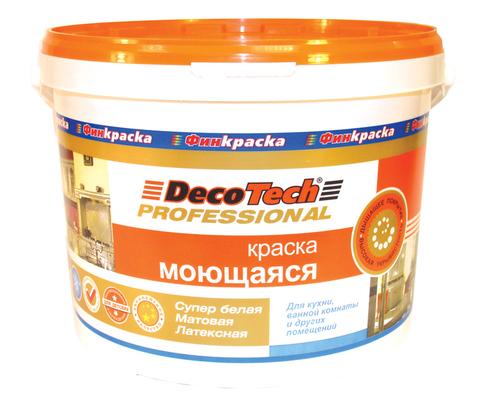 Краска «МОЮЩАЯСЯ» DecoTech